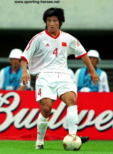 Wu Chengying - China - FIFA World Cup 2002