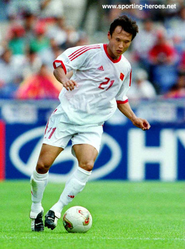 Xu Yunlong - China - FIFA World Cup 2002