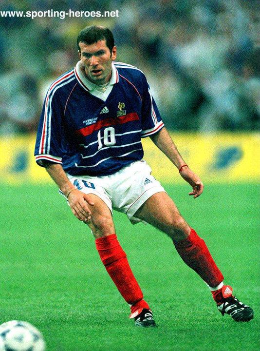 Zinedine zidane fifa coupe du monde 1998 france - Zidane coupe du monde 1998 ...