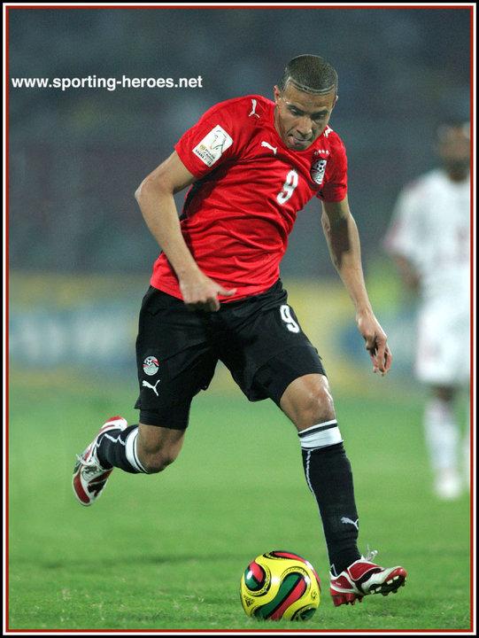 Mohamed ZIDAN - 2008 African Cup of Nations - Egypt  Mohamed ZIDAN -...