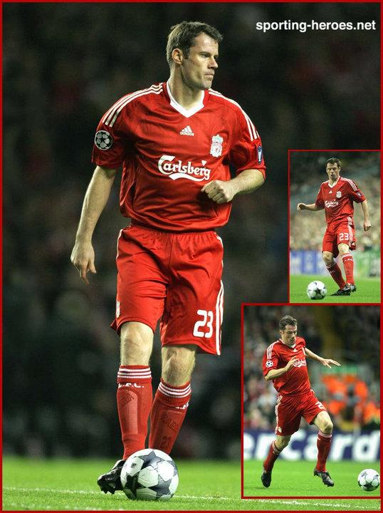 Jamie Carragher - UEFA Champions League 2008/09