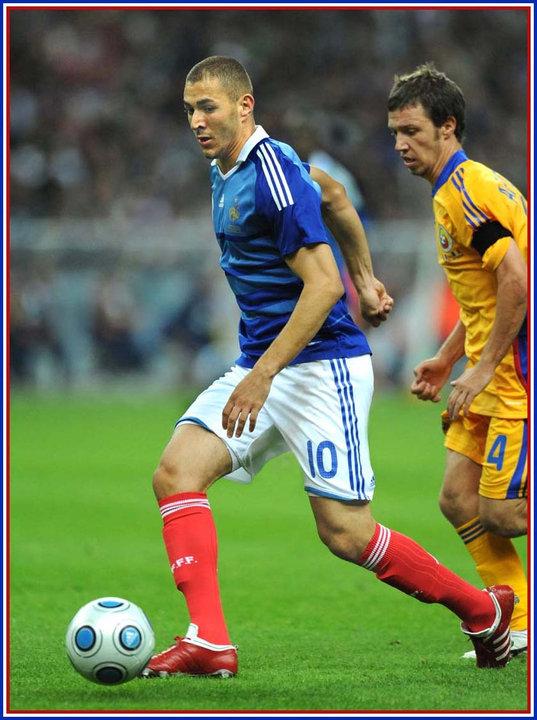 Karim benzema fifa coupe du monde 2010 qualification - Coupe du monde 2010 france ...