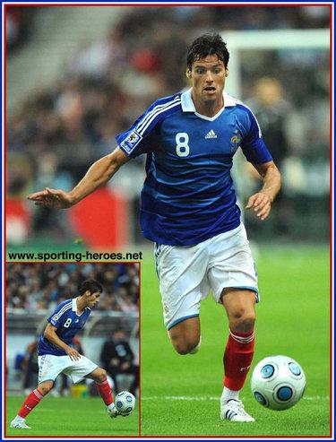 Yoann gourcuff fifa coupe du monde 2010 qualification - Coupe du monde 2010 france ...