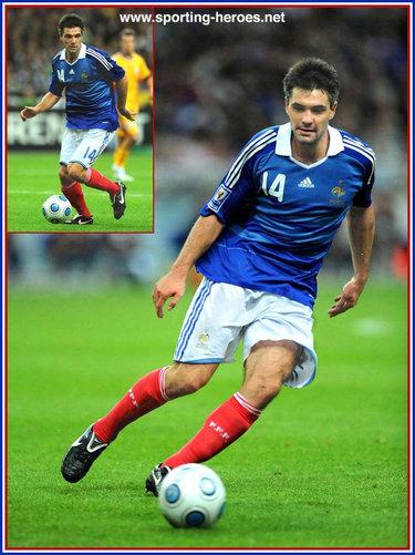Jeremy toulalan fifa coupe du monde 2010 qualification - Coupe du monde 2010 france ...