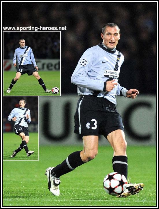 7cb082c04 Giorgio Chiellini - UEFA Champions League 2009 10 - Juventus