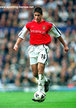SYLVINHO - Arsenal FC - Premiership Appearances
