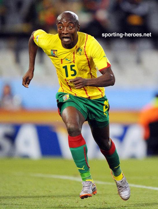 Pierre webo fifa coupe du monde 2010 cameroun - Coupe du monde fifa 2010 ...
