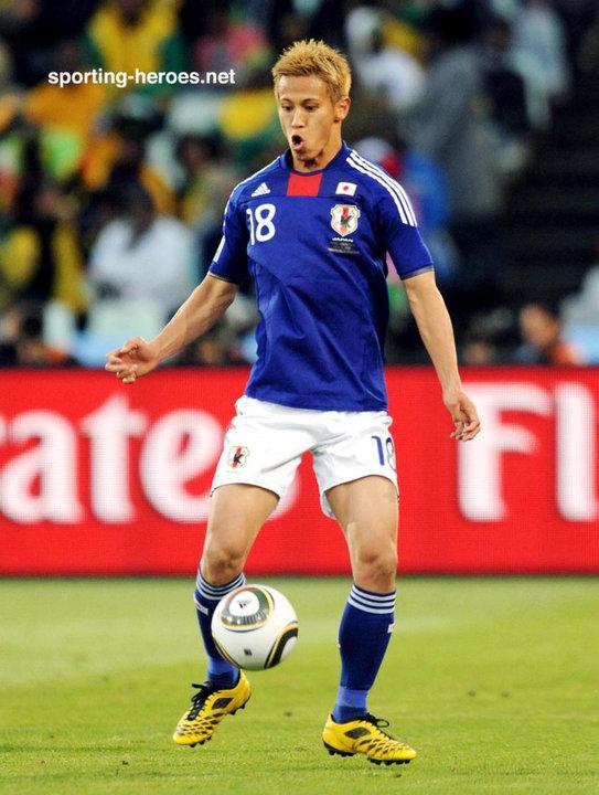 Fifa 14 Keisuke Honda >> Keisuke Honda Fifa World Cup 2010 Japan