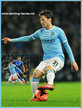David SILVA - Manchester City FC - Premiership Appearances 2010 - 2014
