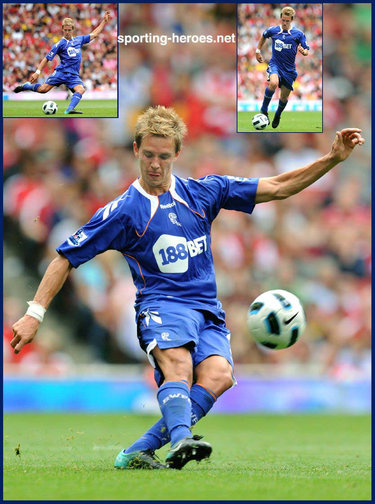 Stuart Holden - Bolton Wanderers - League Appearances