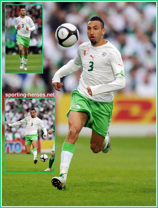 Nadir belhadj fifa coupe du monde 2010 algerie - Coupe du monde fifa 2010 ...