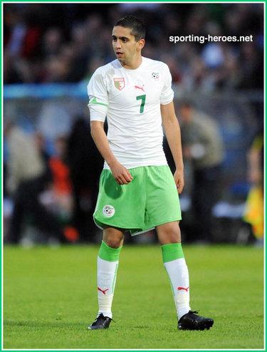 Ryad boudebouz fifa coupe du monde 2010 algerie - Coupe du monde fifa 2010 ...