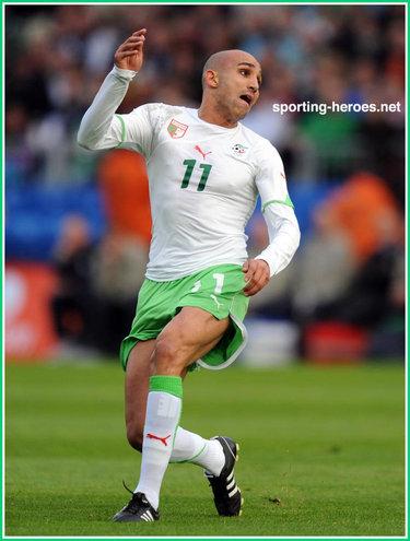 Rafik djebbour fifa coupe du monde 2010 algerie - Coupe du monde fifa 2010 ...