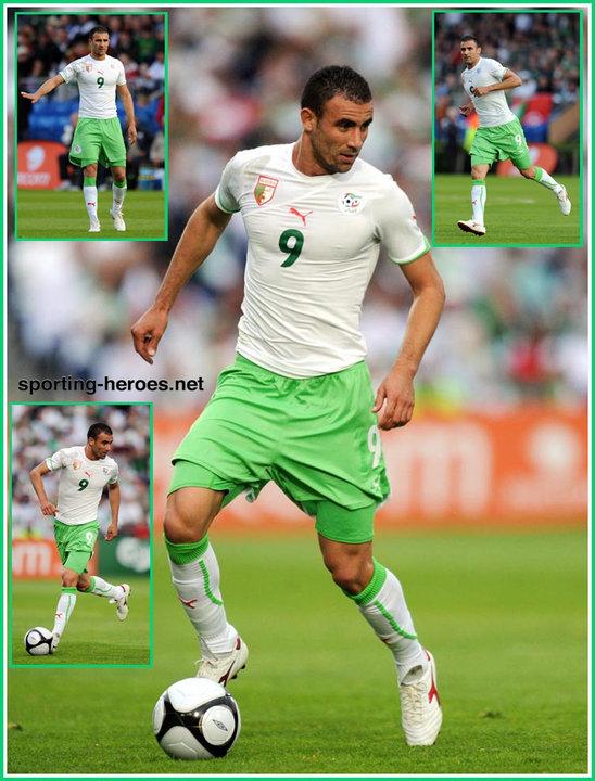 Abdelkader ghezzal fifa coupe du monde 2010 algerie - Coupe du monde fifa 2010 ...