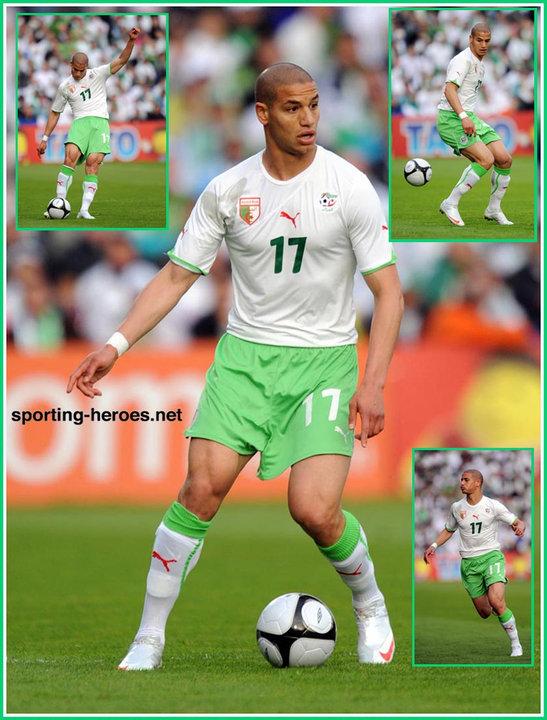 Adlene guedioura fifa coupe du monde 2010 algerie - Coupe du monde fifa 2010 ...