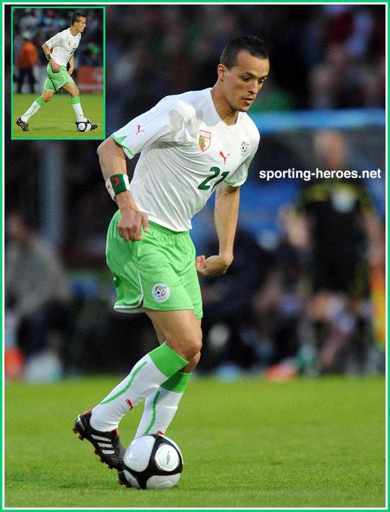 Foued kadir fifa coupe du monde 2010 algerie - Coupe du monde fifa 2010 ...