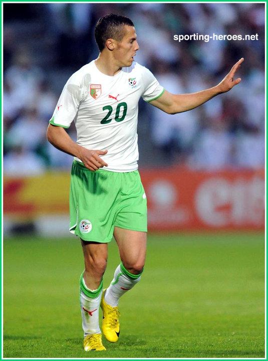 Djamel mesbah fifa coupe du monde 2010 algerie - Algerie disqualifie coupe du monde ...