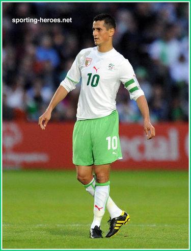 Rafik saifi fifa coupe du monde 2010 algerie - Coupe du monde fifa 2010 ...