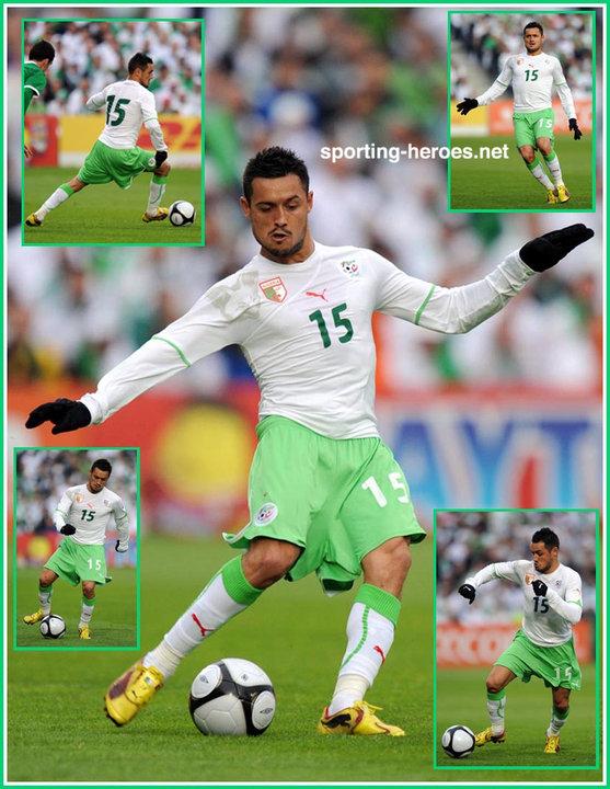 Karim ziani fifa coupe du monde 2010 algerie - Algerie disqualifie coupe du monde ...