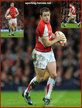Shane WILLIAMS - Wales - International Rugby Union Caps for Wales.