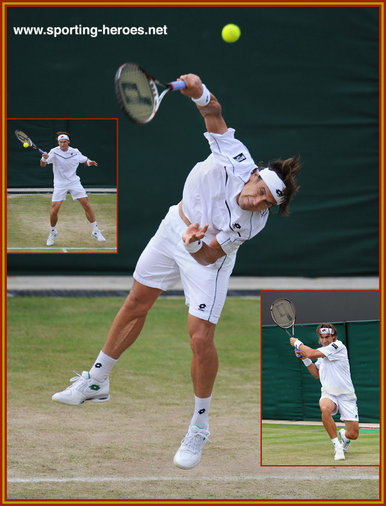 David Ferrer - Spain - Wimbledon 2011 (last sixteen)