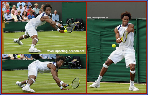 Gael Monfils - France - French Open 2011 (quarter finalist)