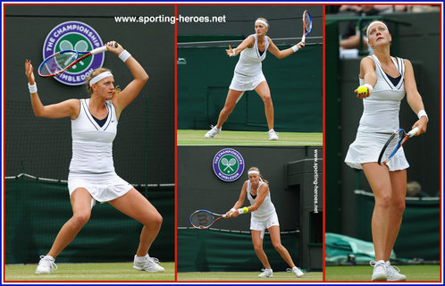 Petra Kvitova - Czech Republic - Champion at Wimbledon 2011