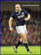 Euan MURRAY - Scotland - Scottish International Rugby Caps.