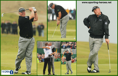 Darren Clarke - Northern Ireland - Darren Clarke Open Champion 2011.