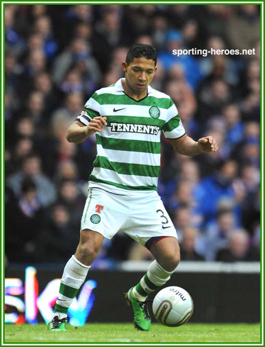 Emilio Izaguirre - Celtic FC - League Appearances 2010/11-
