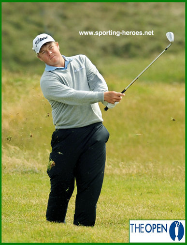 George COETZEE - South Africa - George at the 2011 Open Championship.