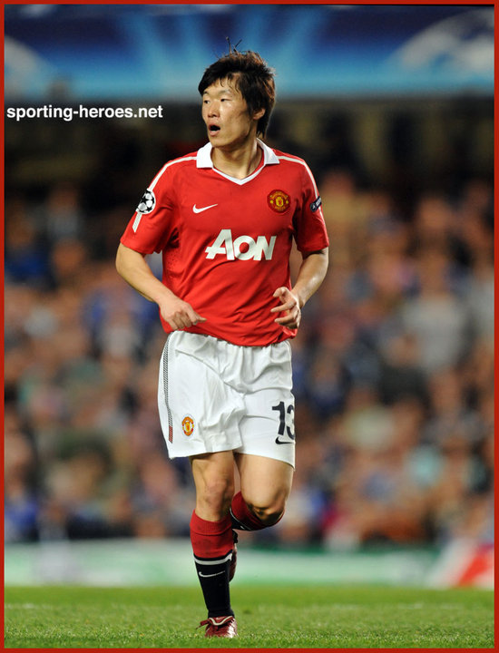 aceee3645 PARK Ji-Sung - Premiership Appearances - Manchester United FC