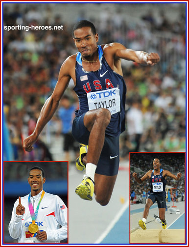 Christian TAYLOR - U.S.A. - 2011 World Champion triple jump champion.