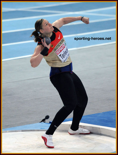 Josephine TERLECKI - Germany - 2011 European Indoors Shot Put bronze.