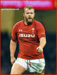 Scott ANDREWS - Wales - International Rugby Union Caps.