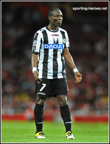 Emmanuel AGYMANG-BADU - Udinese Calcio  - Champions League third qualifying round. Play-off.