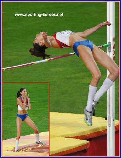 Anna Chicherova - Russia - 2011 World Championships High Jump Champion