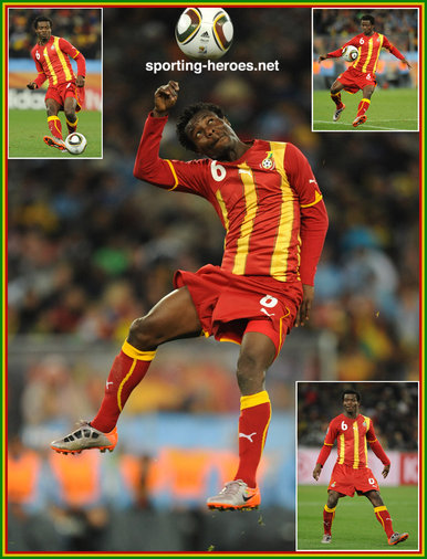 Anthony Annan - Ghana - FIFA World Cup 2010 (USA, Uruguay)