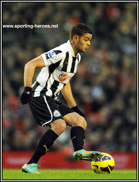 sports shoes dce32 680ac Hatem BEN ARFA - Premiership Appearances - Newcastle United FC