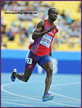 Jaysuma SAIDY NDURE - Norway - 2011 World Champs finalist over 200m.