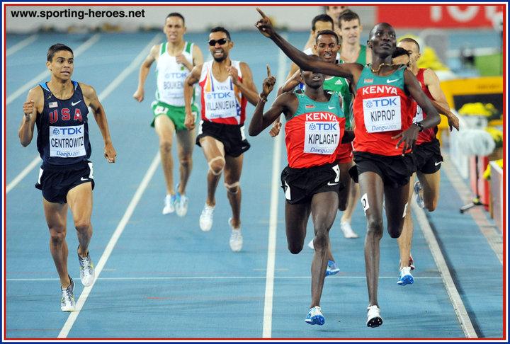 2011 Bronze Medal Mens 1500m In Daegu