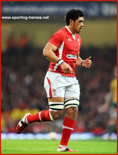 Taulupe FALETAU - Wales - 2011 World Cup matches.