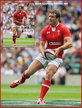 Jamie ROBERTS - Wales - 2011 World Cup matches.