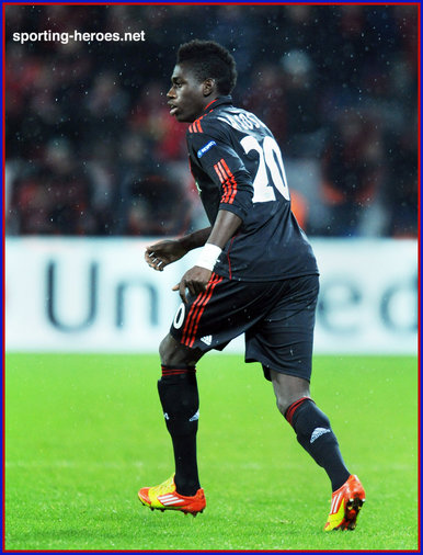 Danny DA COSTA - Bayer Leverkusen - UEFA Champions League 2011/12