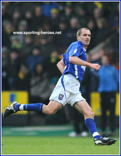 Colin Healy - Ipswich Town FC - League Appearances