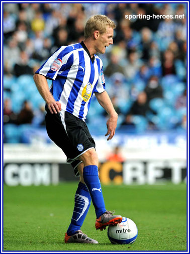 Gary Teale - Sheffield Wednesday - League Appearances