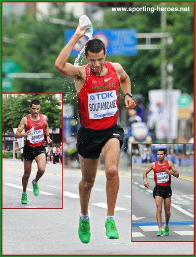 The 2011 international marathon in marrakech