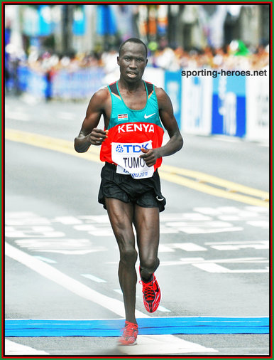 David Barmasai TUMO - Kenya - 2011 World Championships 5th place.