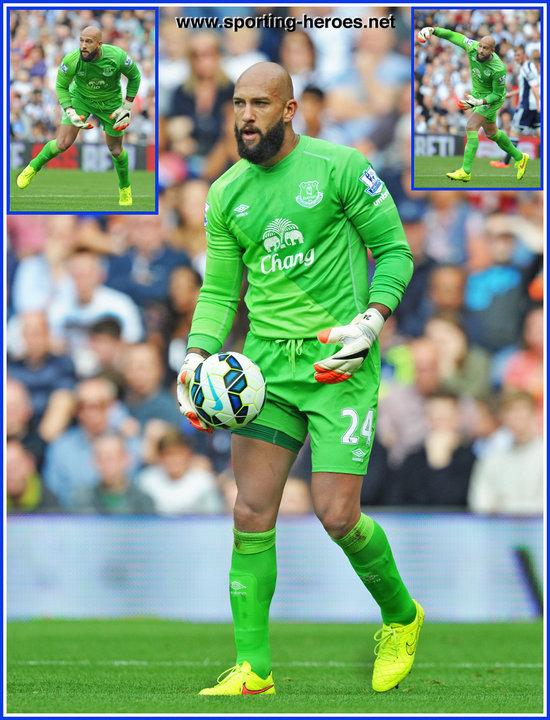online store 7f494 2e762 Tim HOWARD - Premiership Appearances - Everton FC