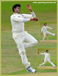 Shanthakumaran SREESANTH - India - International Test Cricket Career for India.